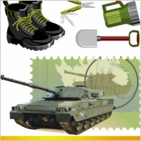 military_theme_vector_164134
